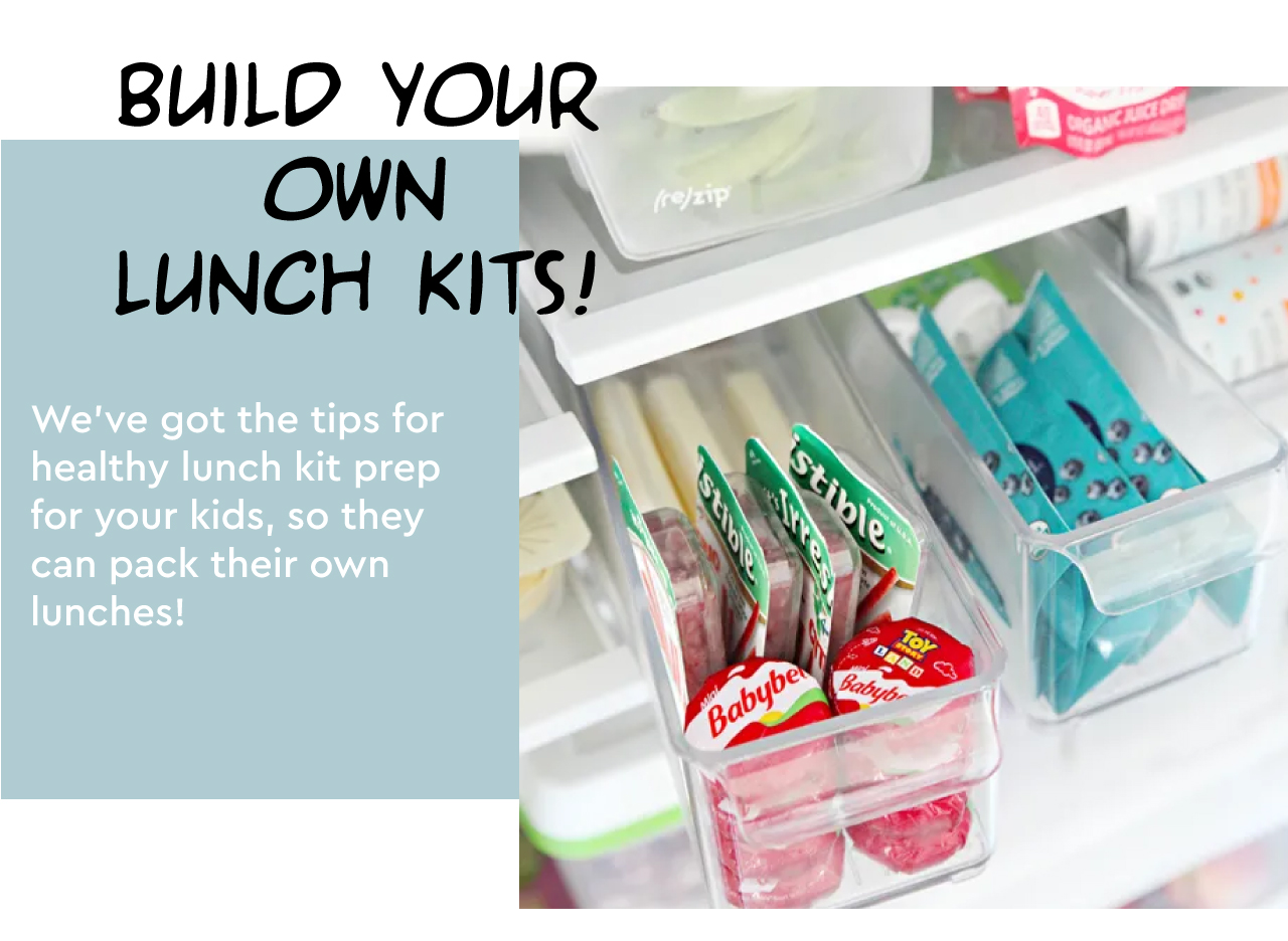 fosters iga - back to school - build your own lunch kits