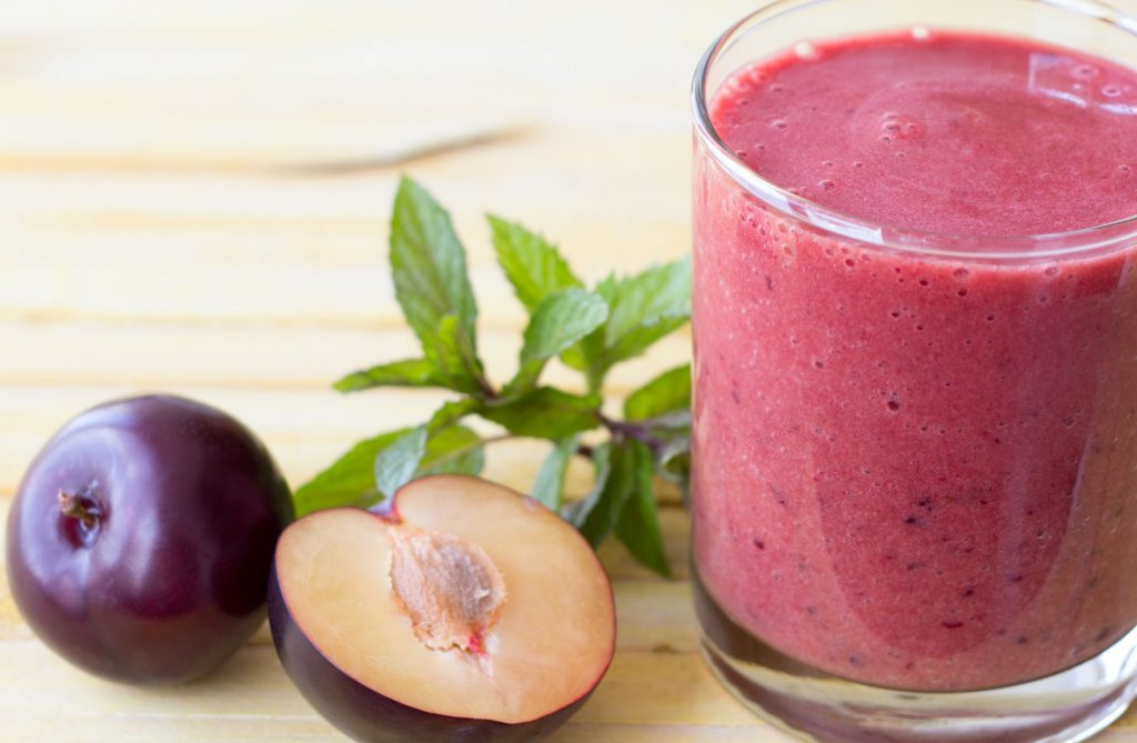 Plum-Compote-Smoothie