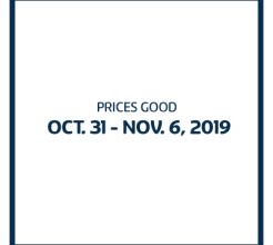 Prices Good October 17-23, 2019 image.