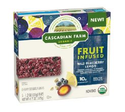 Cascadian Farm Fruit Infused Bar image