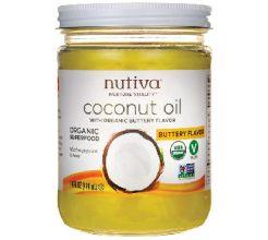 Nutiva Coconut Oil Buttery Flavor image