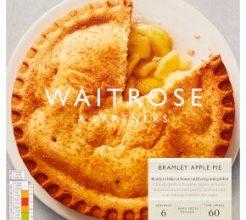Waitrose Bramley Apple Pie image
