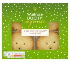 Duchy Organic 4 All Butter Pastry Mince Pies image