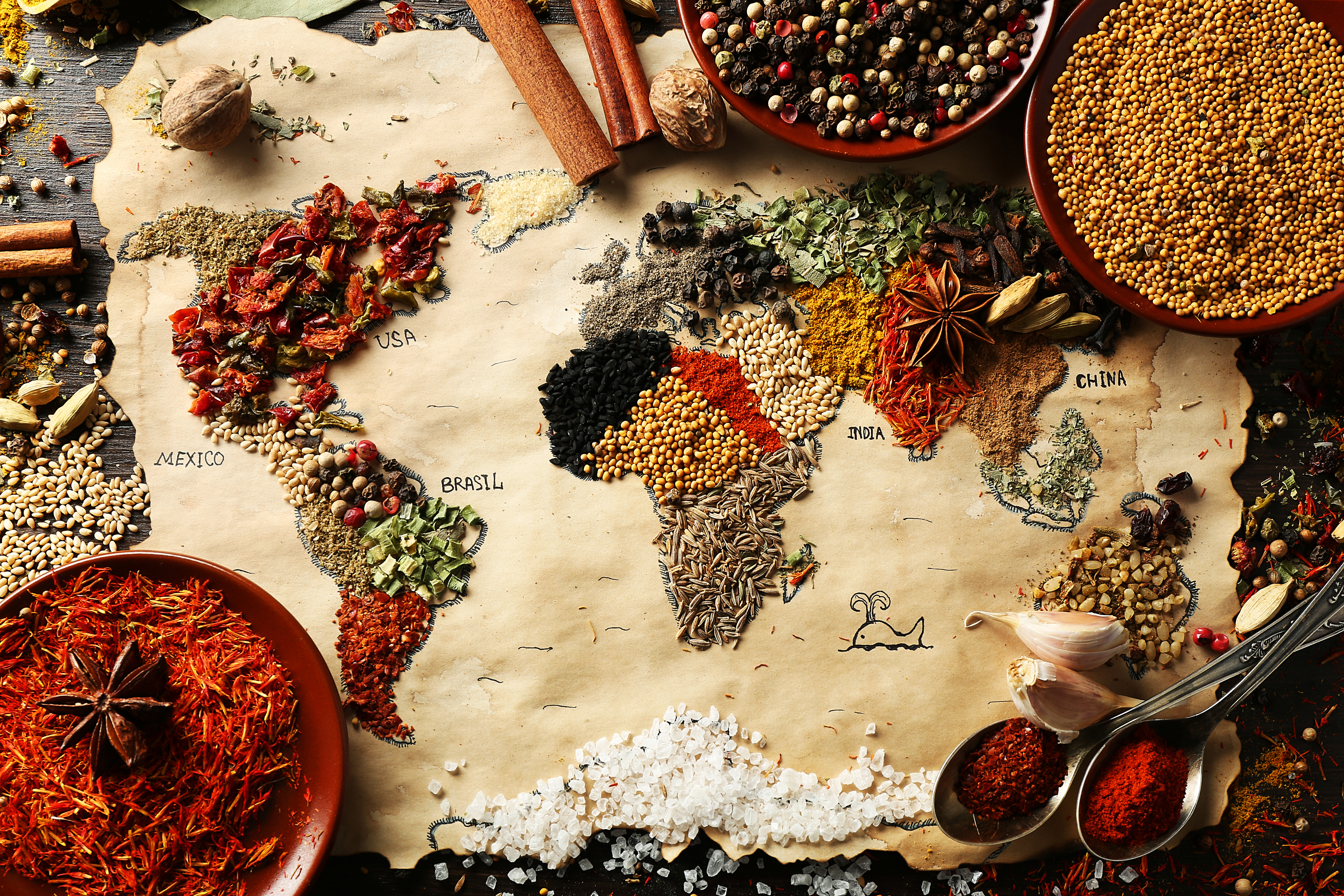 Fosters-Live-To-Eat-Culture-World-Map-Food-Grains