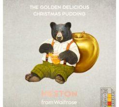 Heston from Waitrose Golden Delicious Christmas pudding image