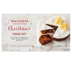 Waitrose Christmas Cake Kit image