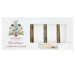 Waitrose Christmas Iced Fruit Slices image