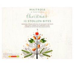 Waitrose Christmas Stollen Bites image