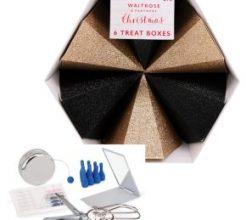 Waitrose Christmas Treat Boxes image