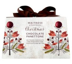 Waitrose Christmas chocolate panettone image