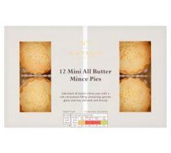 Waitrose 12 Mini All Butter Mince Pies image