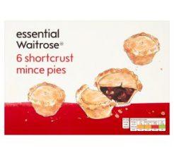 Essential Waitrose 6 Short Crust Mince Pies image