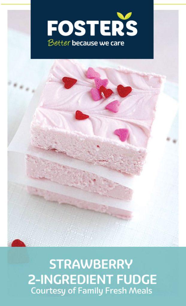 Foster's-Valentines Day-Recipes-Strawberry-Fudge